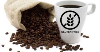 el cafe tiene gluten